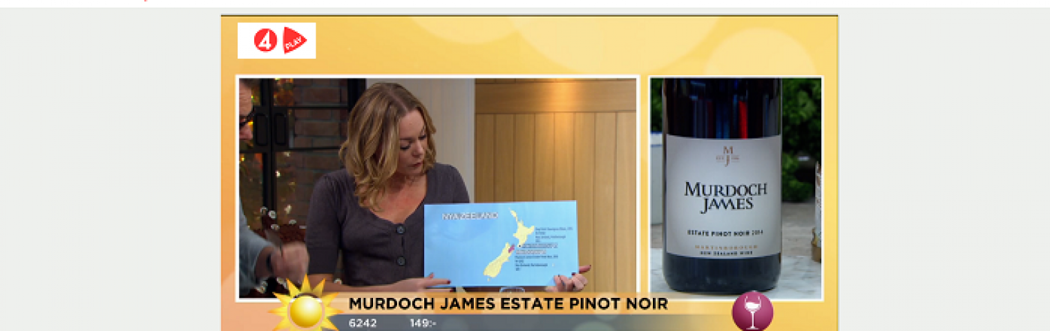 Concealed Wines launches Murdoch James Pinot Noir at Systembolaget
