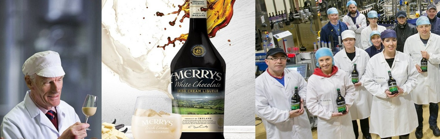 Merrys Irish Cream Liqueurs Celebrate 21 years with a new look!