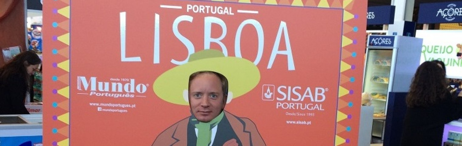 Simon Källquist at SISAB - International Trade Fair for Portuguese Food and Beverage