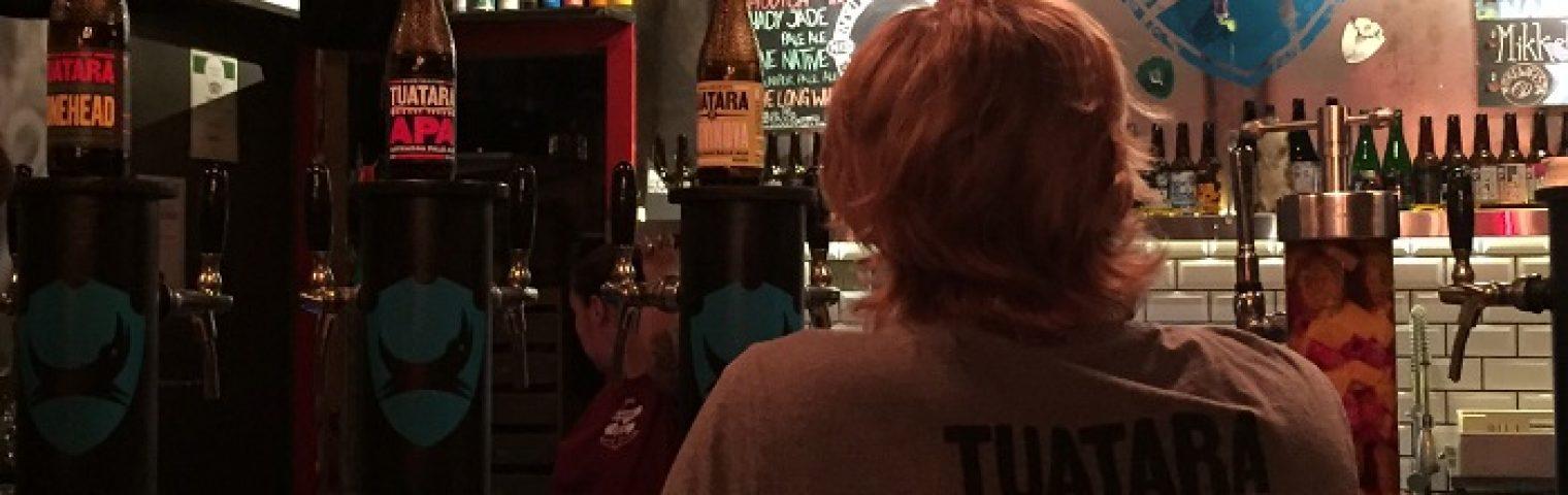 Tuatara & NKB Tap Takeover at Brew Dog in Stockholm